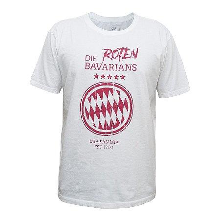 Camisa Casual Bavarians Branca