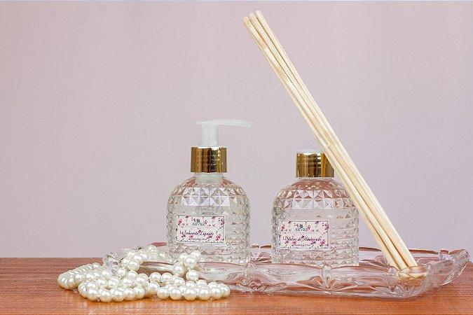 Kit - Sabonete Líquido e Difusor - Pimenta Rosa