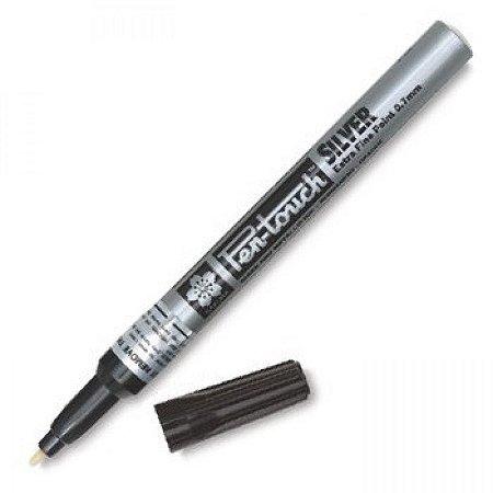 Caneta Permanente Pen Touch Sakura 1mm Prata