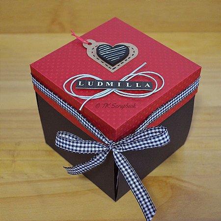 Caixa Explosion Box simples