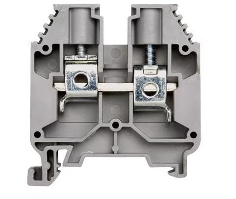 Borne tipo mola (Push-in) cor Cinza, para trilho DIN. 16-Cz 750 V BTWI 16