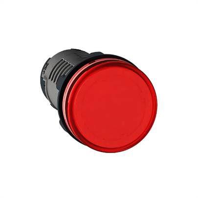Sinaleiro Lukma LK10 com rabicho LED 220V Vermelho 16018
