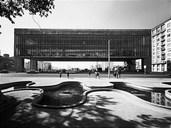 PÔSTER MUSEU DE ARTE DE SÃO PAULO - HANS GUNTER FLIEG