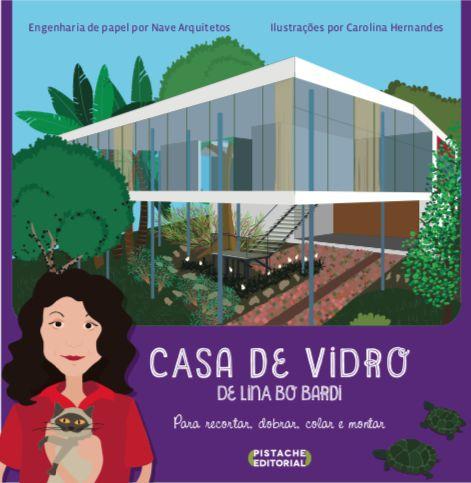 MAQUETE DE PAPEL DA CASA DE VIDRO DE LINA BO BARDI