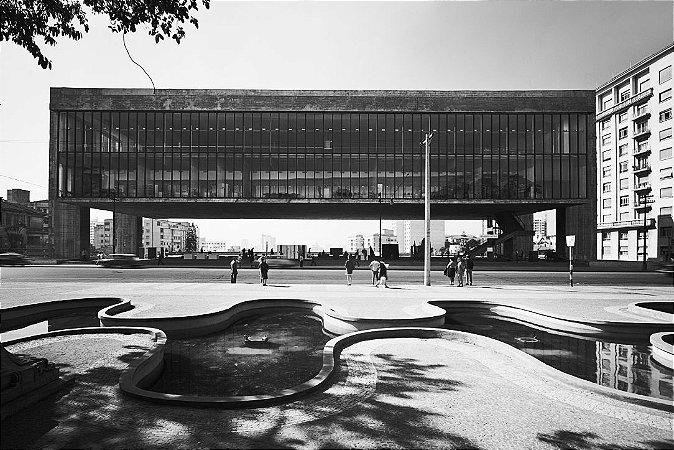 CARTÃO-POSTAL MUSEU DE ARTE DE SÃO PAULO - HANS GUNTER FLIEG