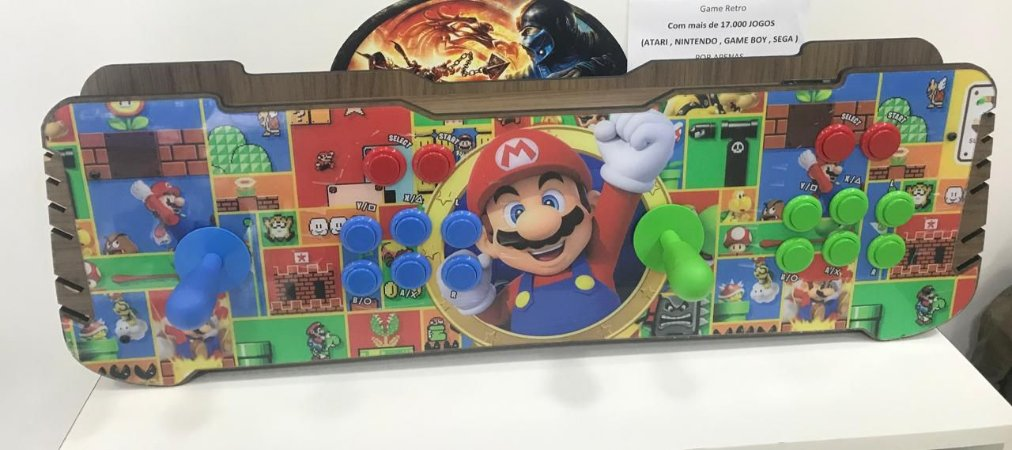 Mesa Arcade - 18 mil jogos