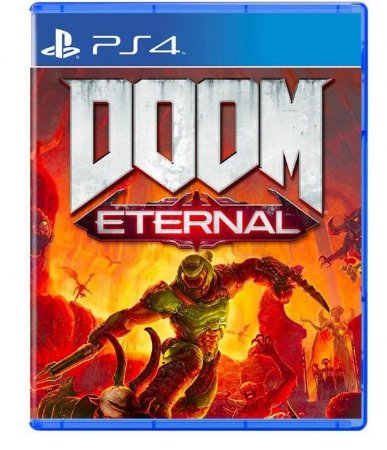 Doom Eternal - Seminovo