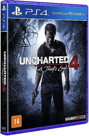 Uncharted 4: A Thiefs End - Seminovo