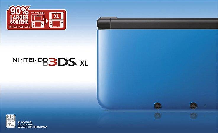 Nintendo 3DS XL Azul - Seminovo