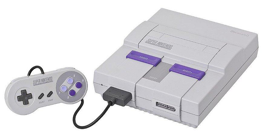 Super Nintendo Clássico - Seminovo