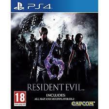 Resident Evil 6- PS4
