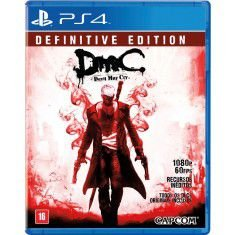 DMC Devil May Cry - PS4(SEMI-NOVO)
