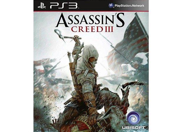 Assassin´s Creed 3 - PS3(SEMI-NOVO)