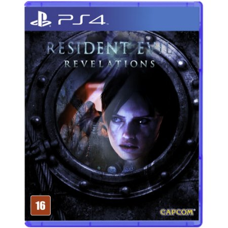 Resident Evil: Revelations Remastered - PS4(Semi-Novo)