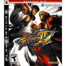 Street Fighter IV - PS3(SEMI-NOVO)