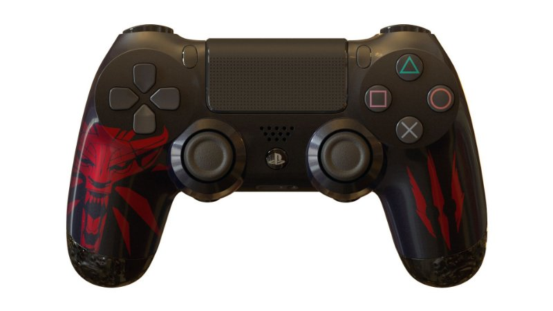 PS4 Controle Temático the Witcher 3 gg controles casual - PS4