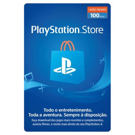 Cartão Presente PlayStation Store - R$ 100
