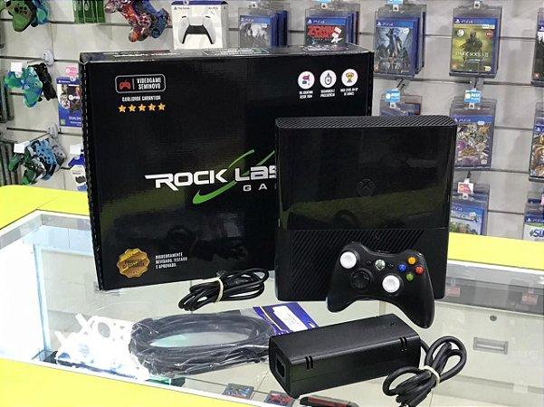 Xbox 360 - 500GB - Seminovo + 2 Jogos seminovos a sua escolha