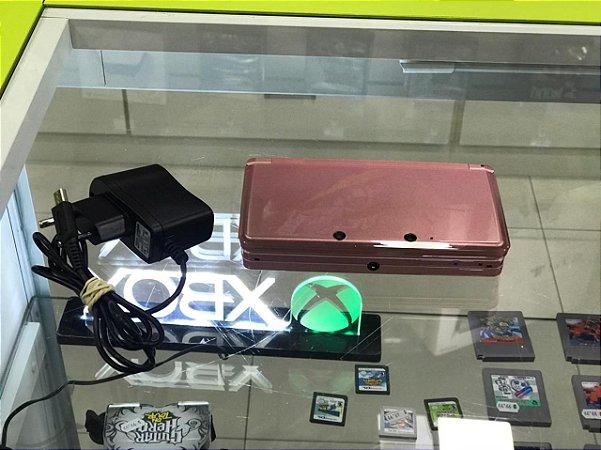 Nintendo 3ds Rosa -(SEMI-NOVO)