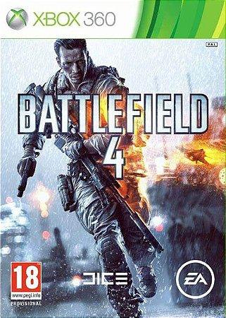 BATTLEFIELD 4- Xbox 360  -Semi-Novo