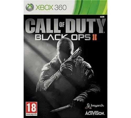 CALL OF DUTY BLACK OPS II- Xbox 360  -Semi-Novo