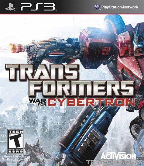TRANSFORMERS CYBERTRON - PS3(SEMI-NOVO)
