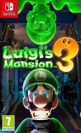 LUIGIS MANSION - SWITCH - SEMI-NOVO