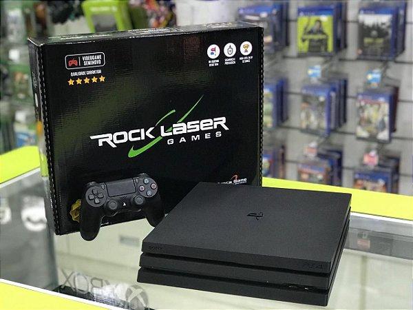 Playstation 4 Pro  - 1 TB - Seminovo + 2 jogos seminovos a sua escolha