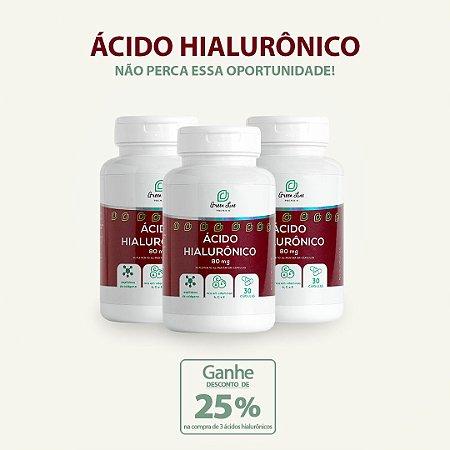 Green Line Ácido Hialurônico - 3 un.