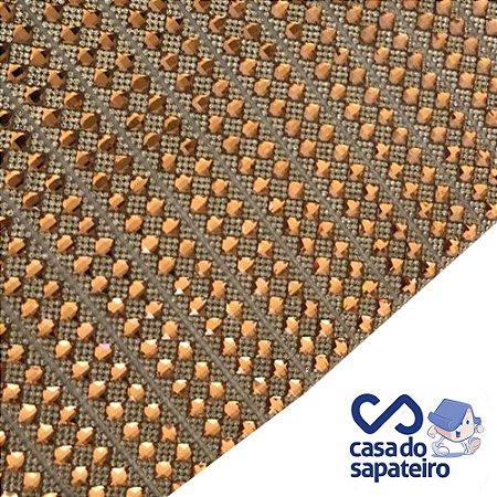 Manta Strass Losango Castor 40 X 24 cm