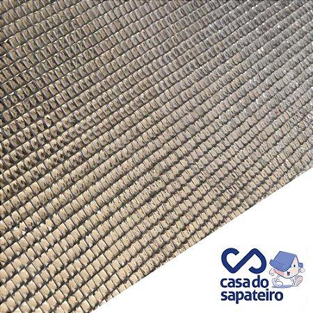 Manta Vidrilho Cinza 40 x 24 cm
