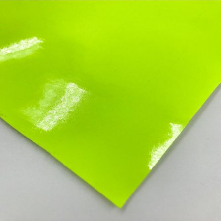 Lonita Verniz PVC Metalizado 1.0 - VERDE NEON