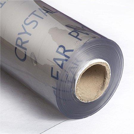 Super Plástico Pvc Cristal 0.20mm Transparente - 1m X 1.40m