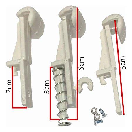 Conjunto Kit 3 Garras P/ Plafon Ventilador De Teto