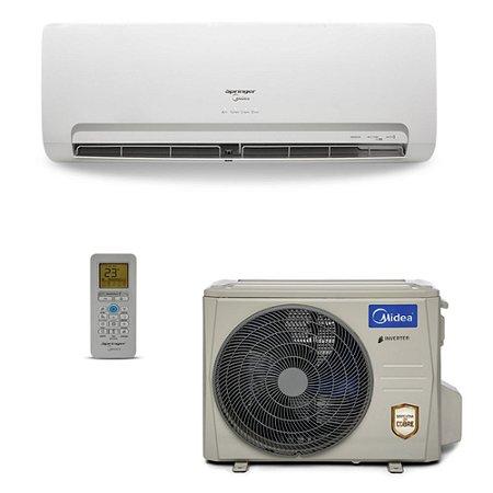 Ar Condicionado Split Hi-Wall Springer Midea Inverter 9.000 - 30.000 BTU/h Frio 220V