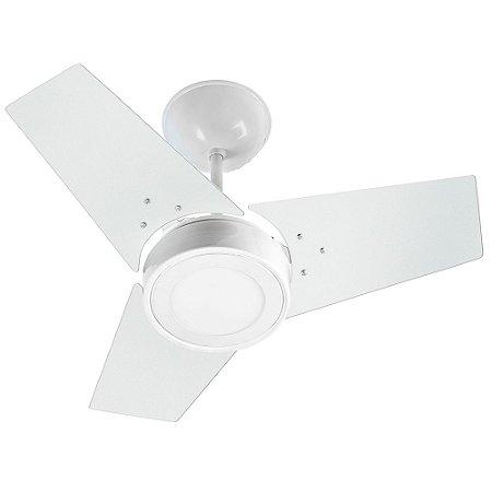 Ventilador Teto Venti Delta Fit LED Branco 03 Pás