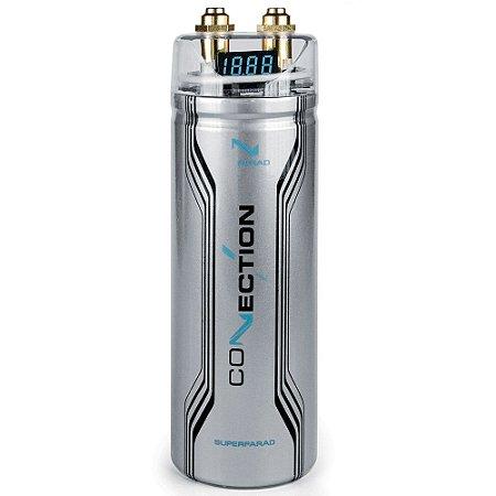 Mega Capacitor Audison Connection 1 FARAD FSF 1.0 DGT