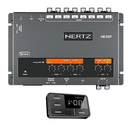 Processador De Audio Automotivo Hertz H8 DSP