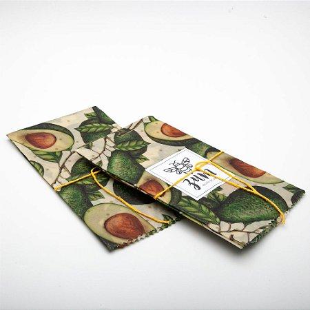 Tecido de Cera - Abacate - GG