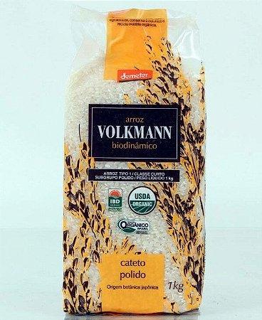 Arroz Cateto Polido Biodinâmico Volkmann