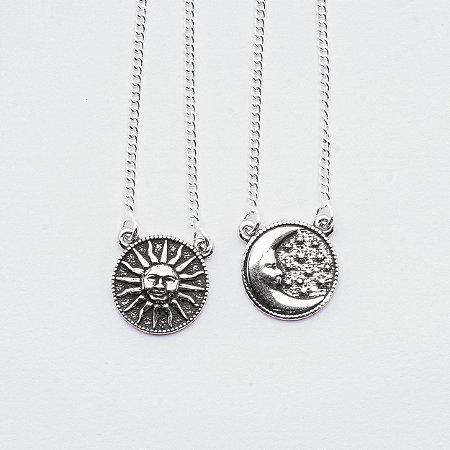 Escapulário Sol e Lua