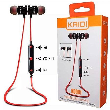 Fone Bluetooth Kaidi KD901