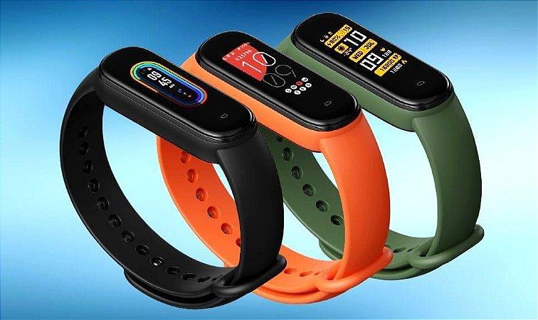 Relógio Smartwatch Amazfit Band 5 com Alexa e Oximetro (PRETO)