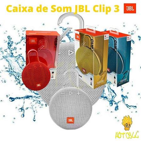 Caixa de Som JBL Clip 3