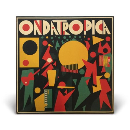 LP TRIPLO Ondatrópica - Ondatrópica (C/ MP3 Download + Compacto + Encarte)