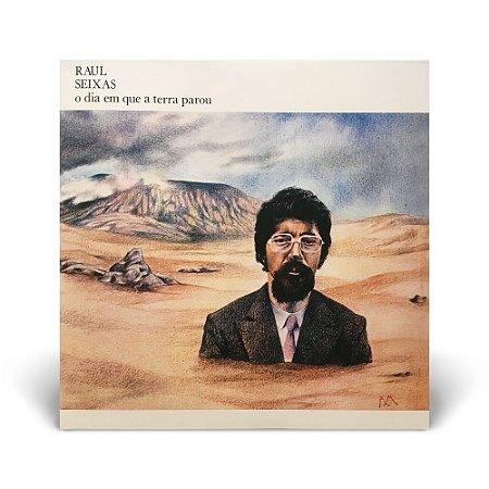 LP Raul Seixas - O dia em que a Terra parou + Revista