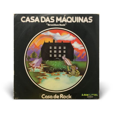 LP Casa das máquinas - Casa de Rock (c/ encarte)