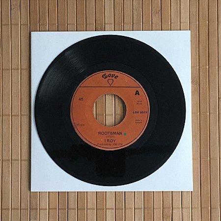 """7"""" I Roy - Rootsman / Rootsman Dub"""