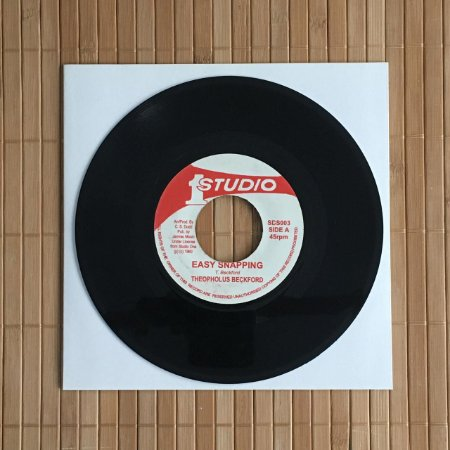 """7"""" The Gaylads - Slipping & Sliding / Theophilus Beckford - Easy Snapping"""