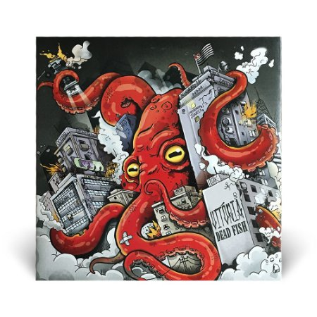 LP Dead Fish - Vitória (VINIL VERMELHO)